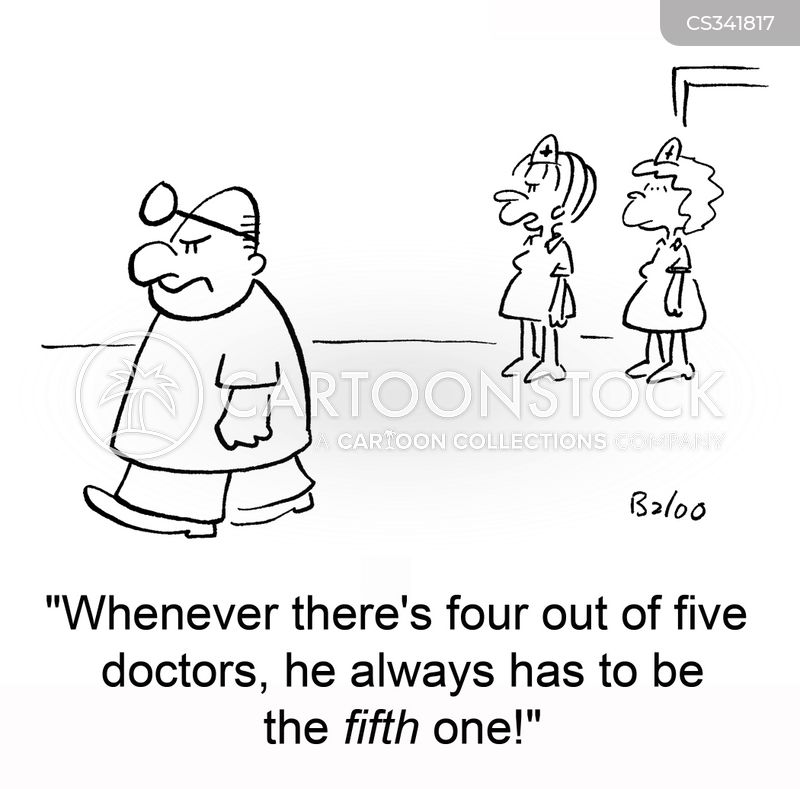 four out of five cartoon