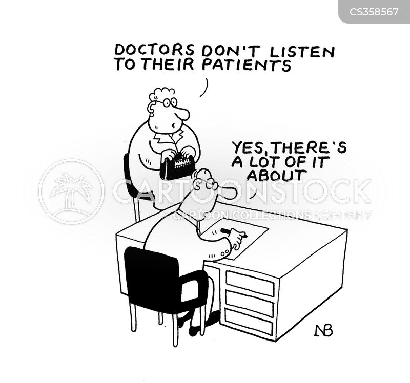 Doctor Listening 'doctors Don't Listen to Their