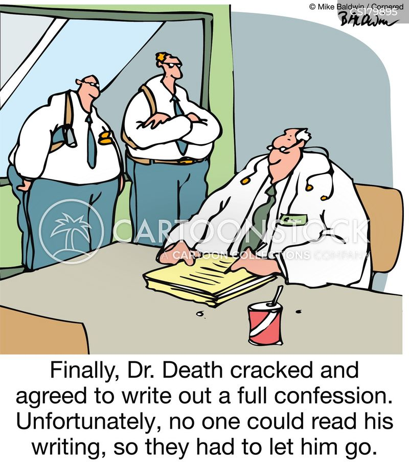 dr death cartoon