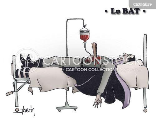 flat battery cartoon