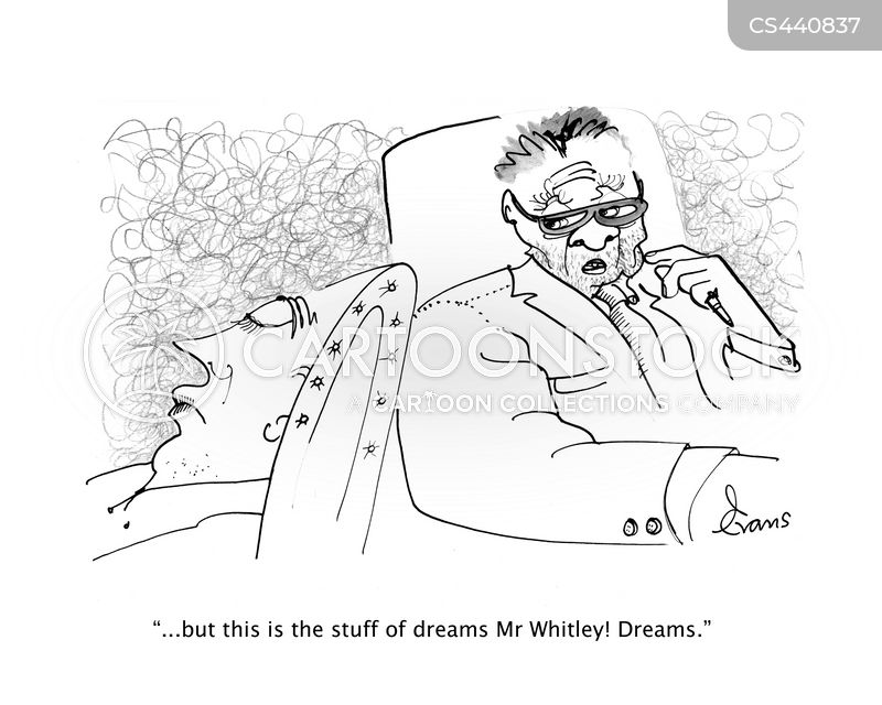 dream analysis cartoon