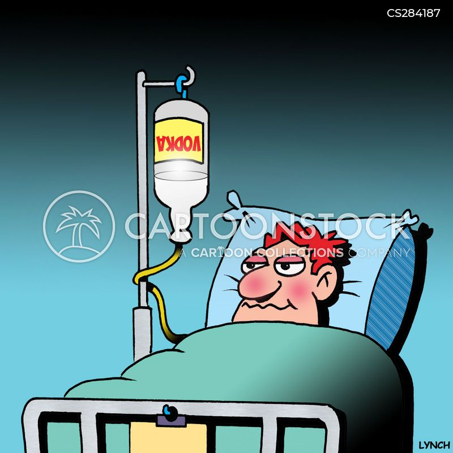 iv therapies cartoon
