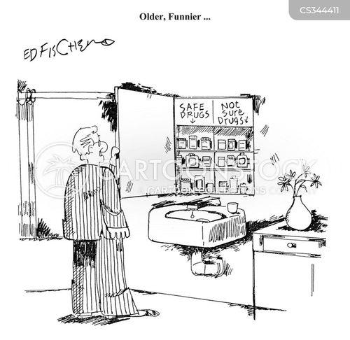 bathroom cabinet cartoon
