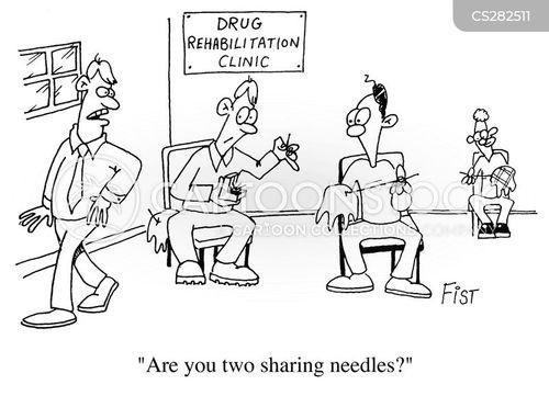 needlework cartoon