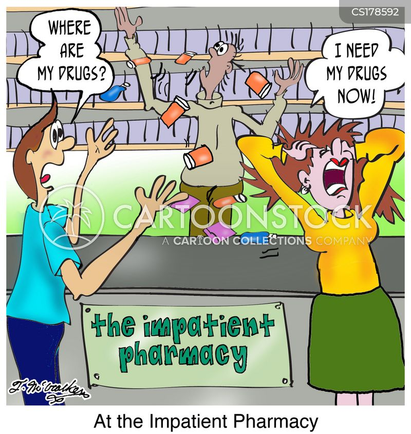 drug store cartoon