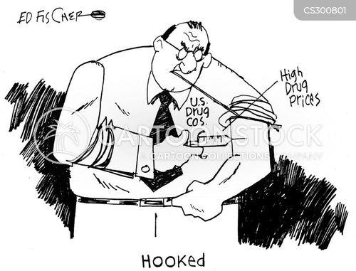 drug price cartoon