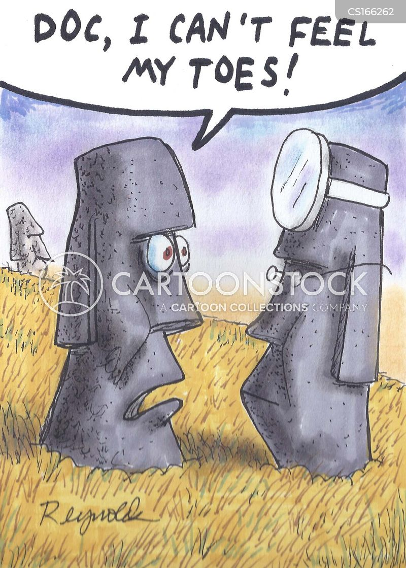 moai cartoon