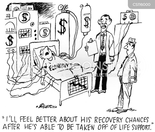 life support cartoon
