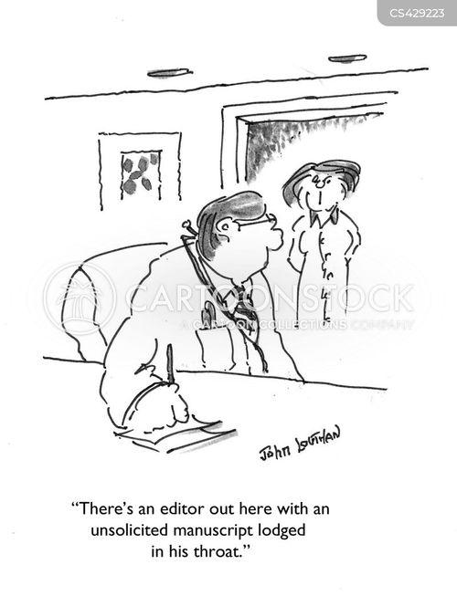 script writing cartoon