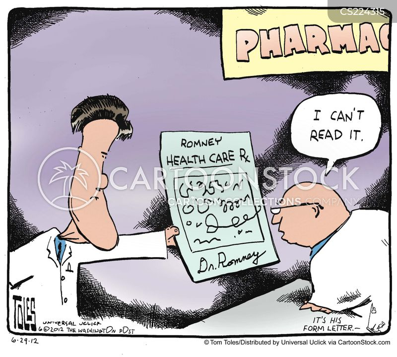 healthcare plan cartoon
