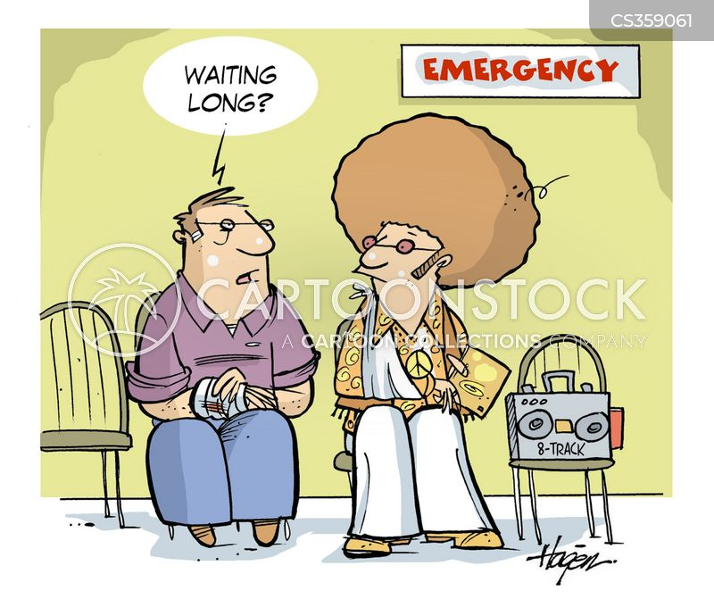 Emergency Room Waiting Cartoon 1970s Cartoons ...