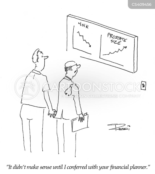 enlarged prostate cartoon