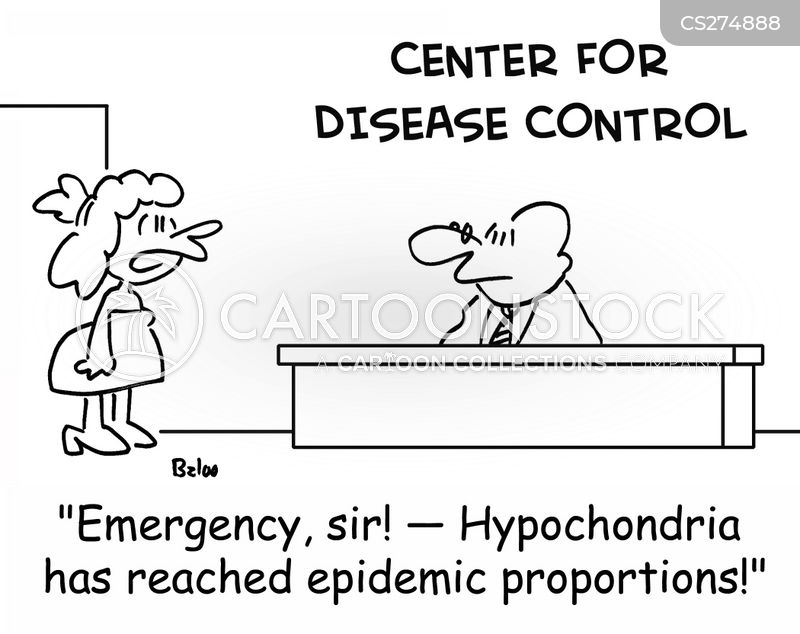 center for the control of contagious diseases cartoon