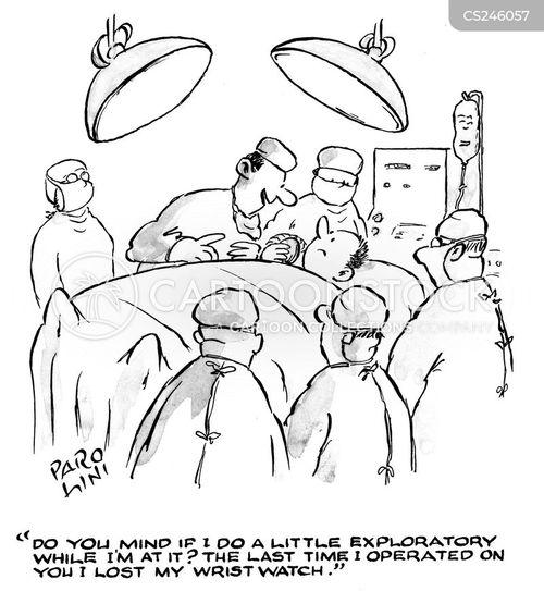 exploratory operations cartoon
