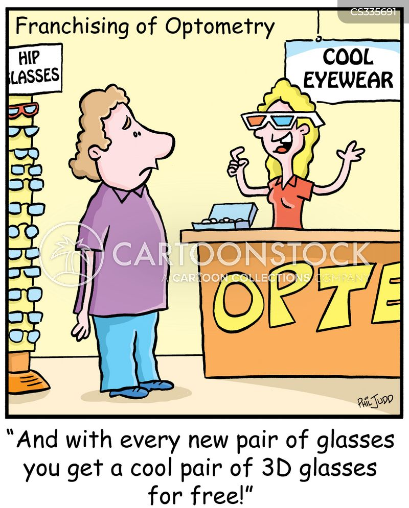 new glasses cartoon