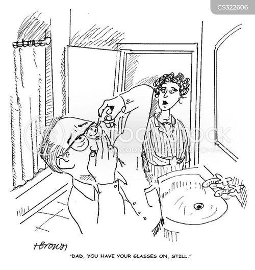 eye-drop cartoon