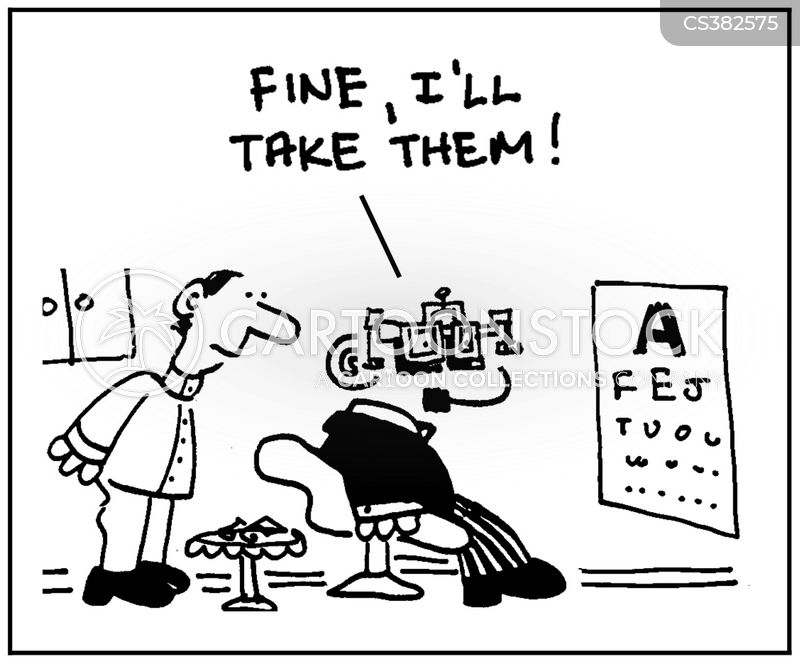 Eye Test Cartoons And Comics Funny Pictures From Cartoonstock