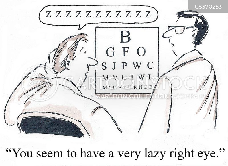 eye health cartoon