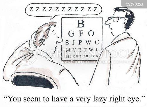 eye care cartoon