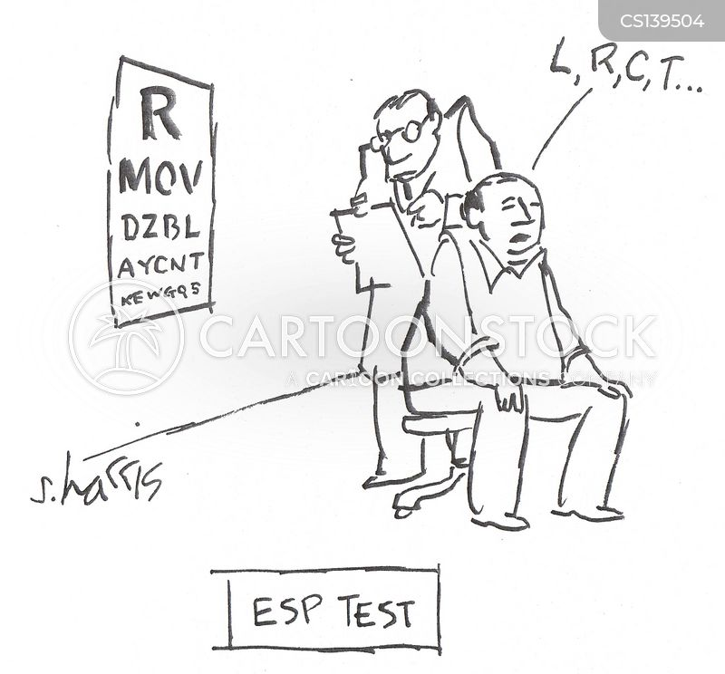 Psychic Test Cartoons and Comics - funny pictures from