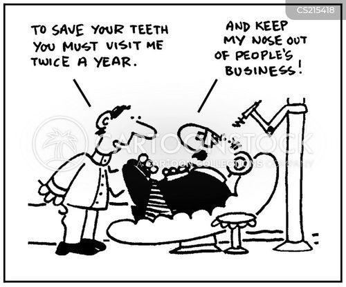 dental appointment cartoon