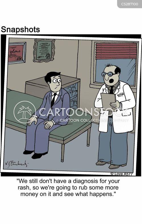 rubbing cartoon
