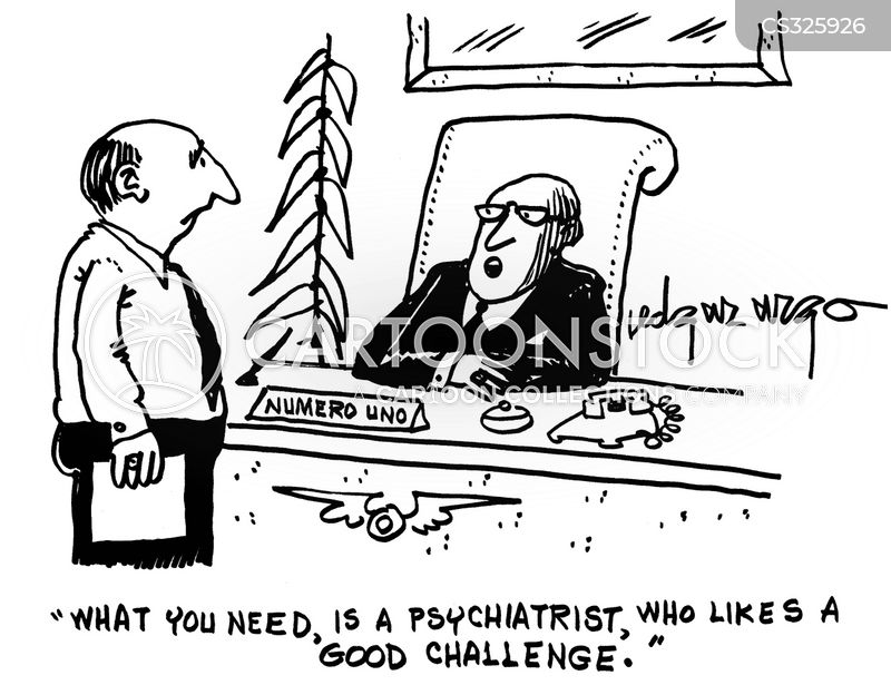 mental issues cartoon