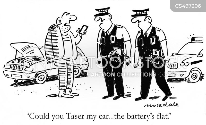 wasting police time cartoon