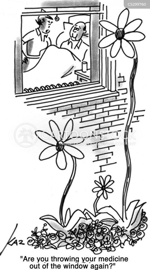 plant feed cartoon