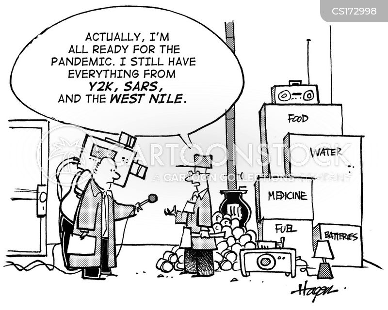 flu outbreak cartoon