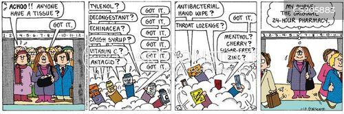 winter bugs cartoon