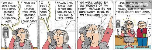 flu season cartoon