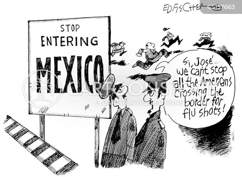 flu vaccine shortage cartoon