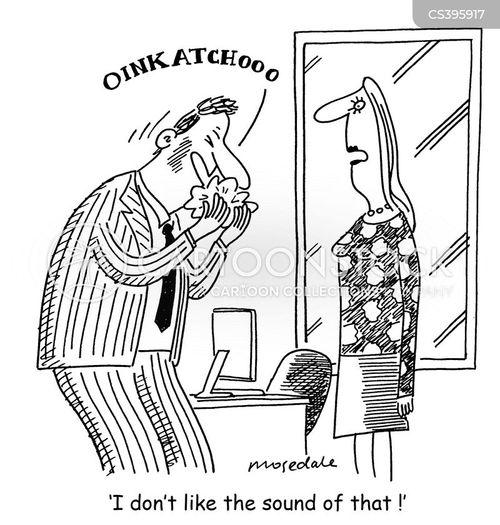 epidemic disease cartoon