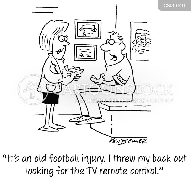 football games cartoon