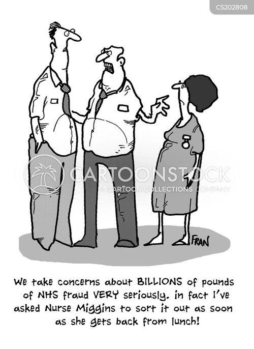 hospital budget cartoon