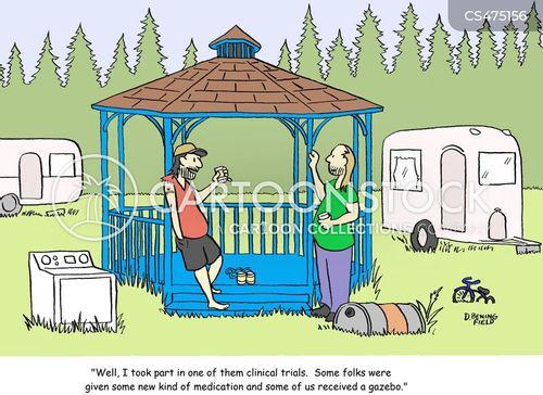 clinical trials cartoon