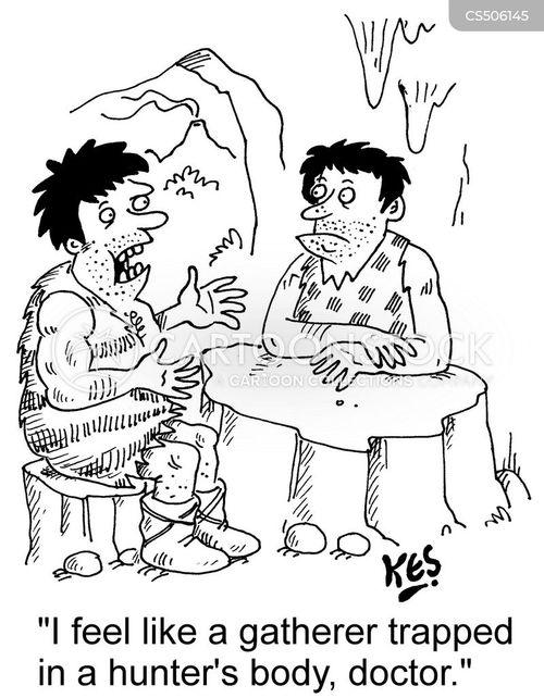 gender expression cartoon