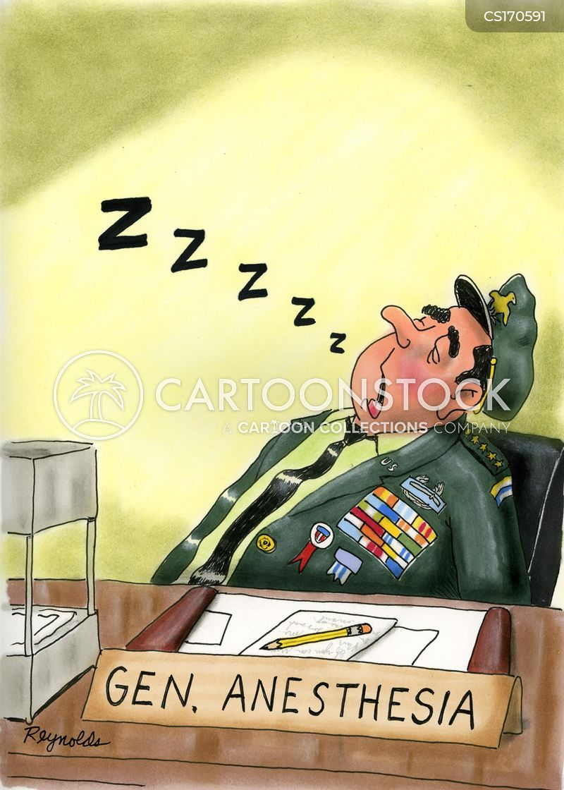 knocked out cartoon