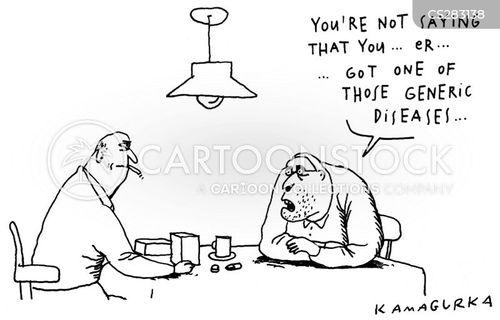 common illness cartoon