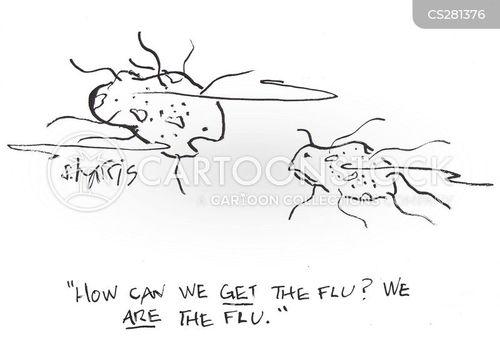 bacteriology cartoon