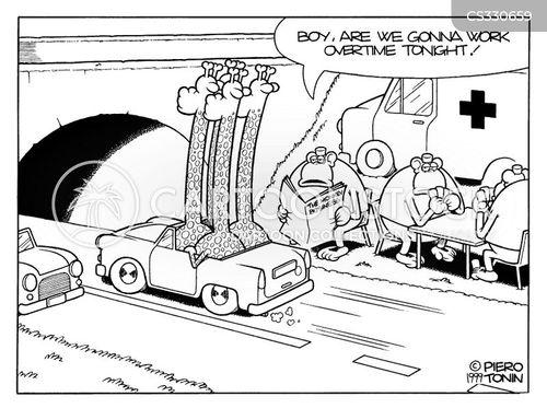 over time cartoon