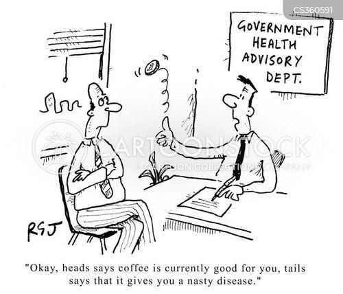 health advisory cartoon