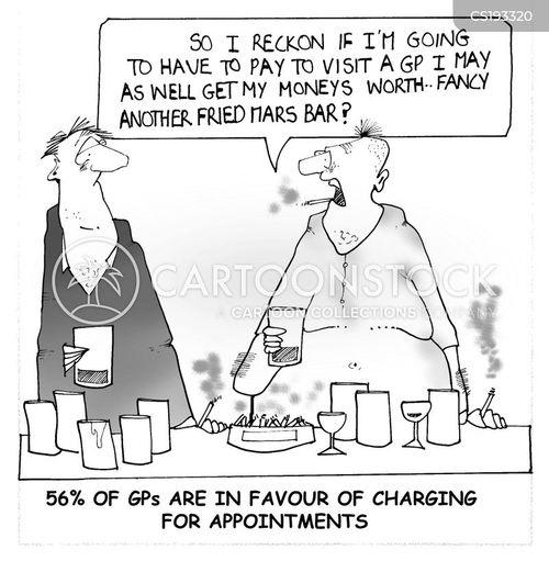 health issue cartoon
