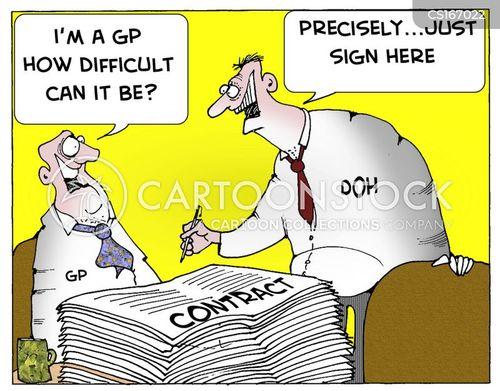 signature cartoon