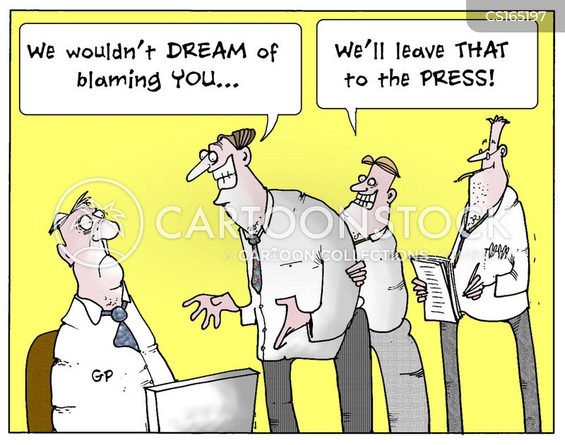 media frenzy cartoon