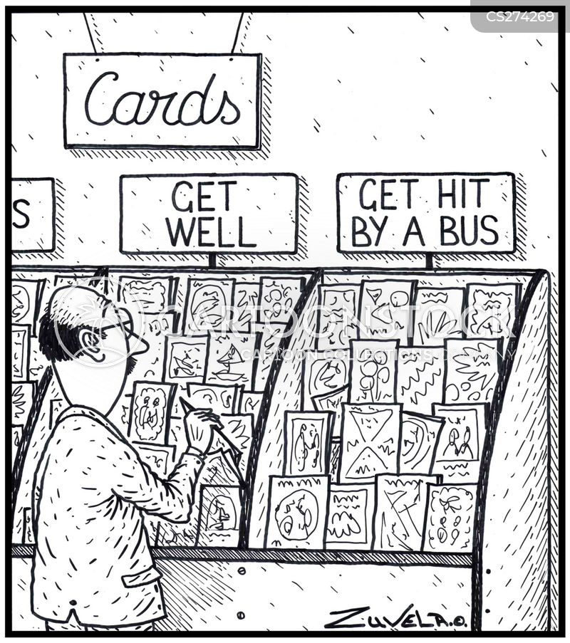 card shops cartoon
