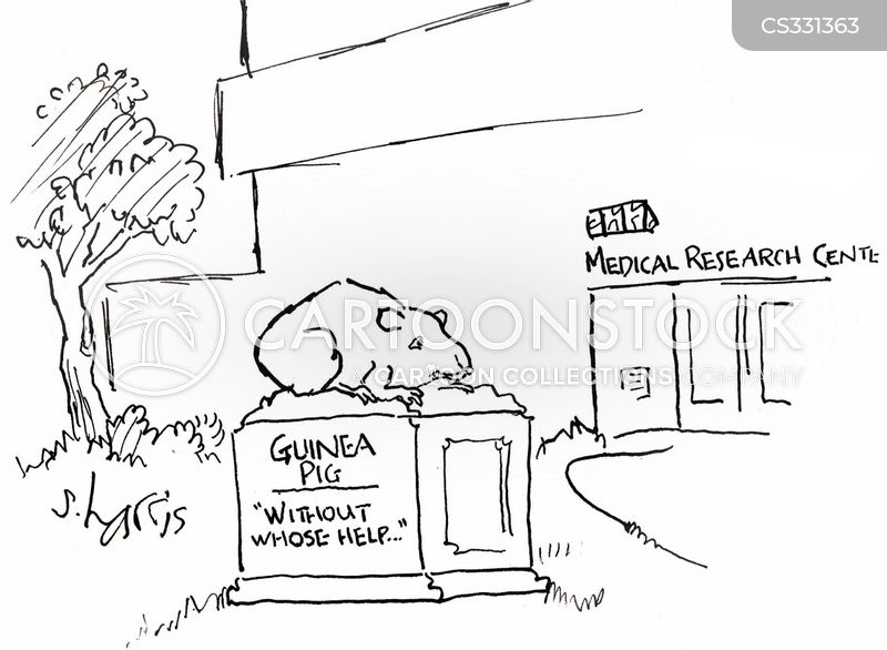 medical researchers cartoon