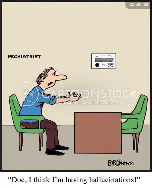 psychosis cartoon