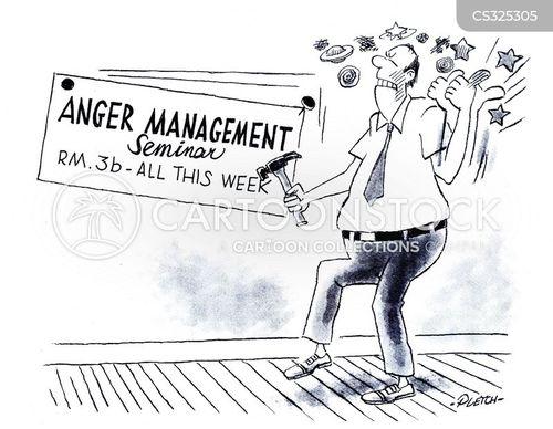 managing anger cartoon